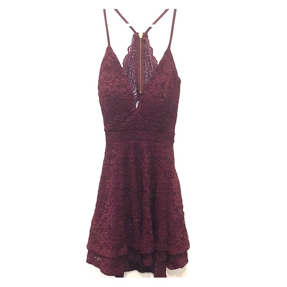 Honey and Rosie Dresses & Skirts - Maroon dress